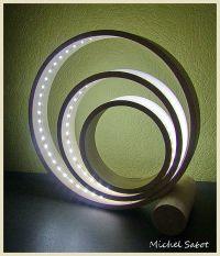 Lampe en érable Ø 300x50x10 mm